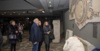 Изящна мозайка от IV век показаха в Регионалния музей